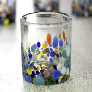 Forestburgh Confetti Festival Blown Juice Glass (Set of 6)