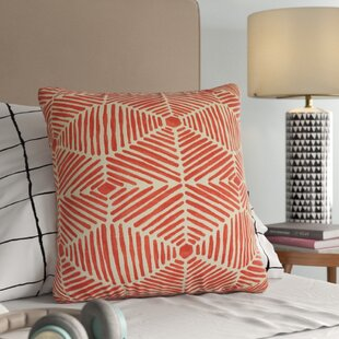 Barksdale Geometric Down Filled 100% Cotton Throw Pillow