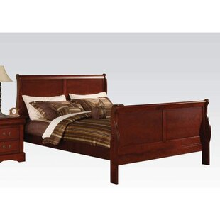 Cephas Full Solid Wood Sleigh Bed