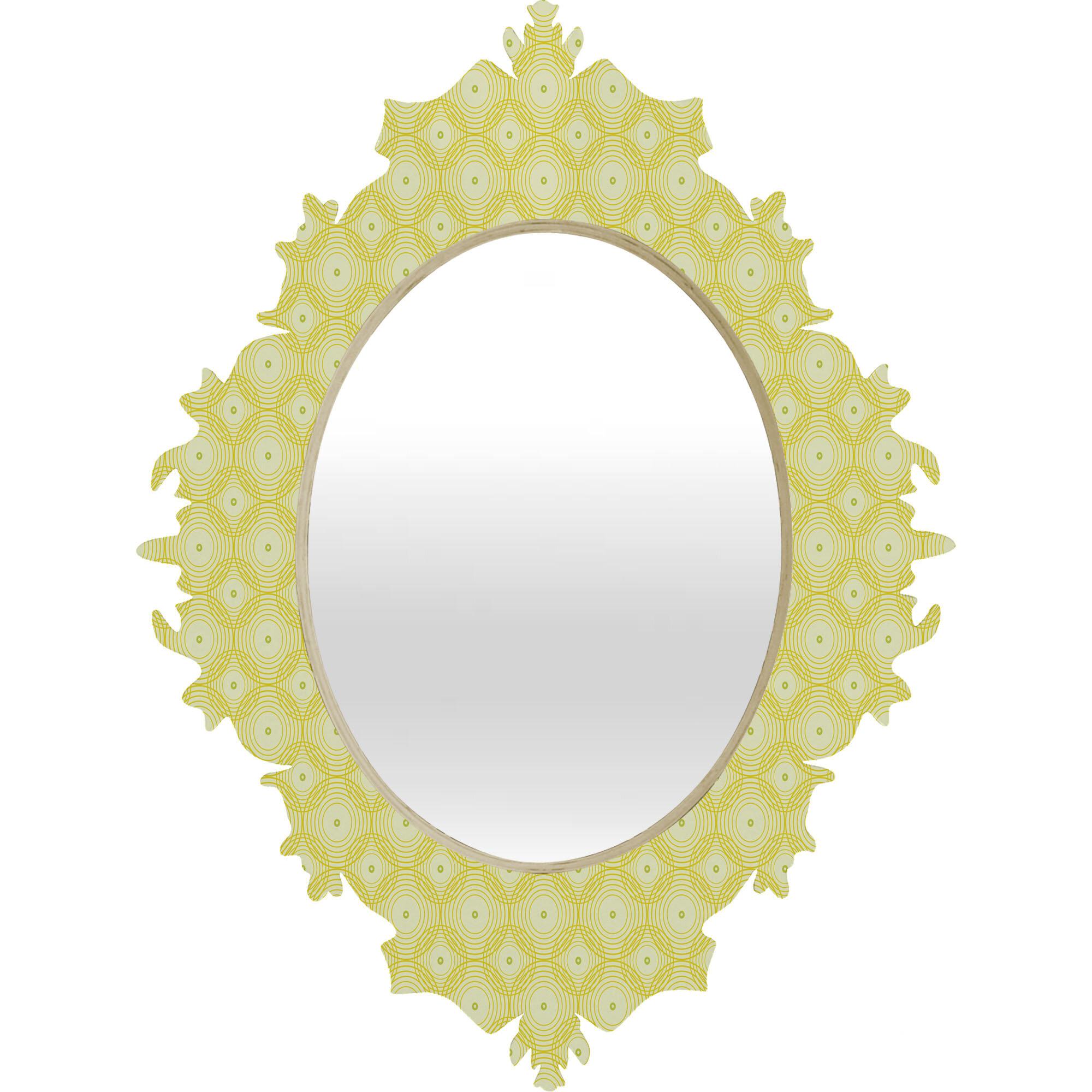 East Urban Home Spirals Baroque Accent Mirror | Wayfair