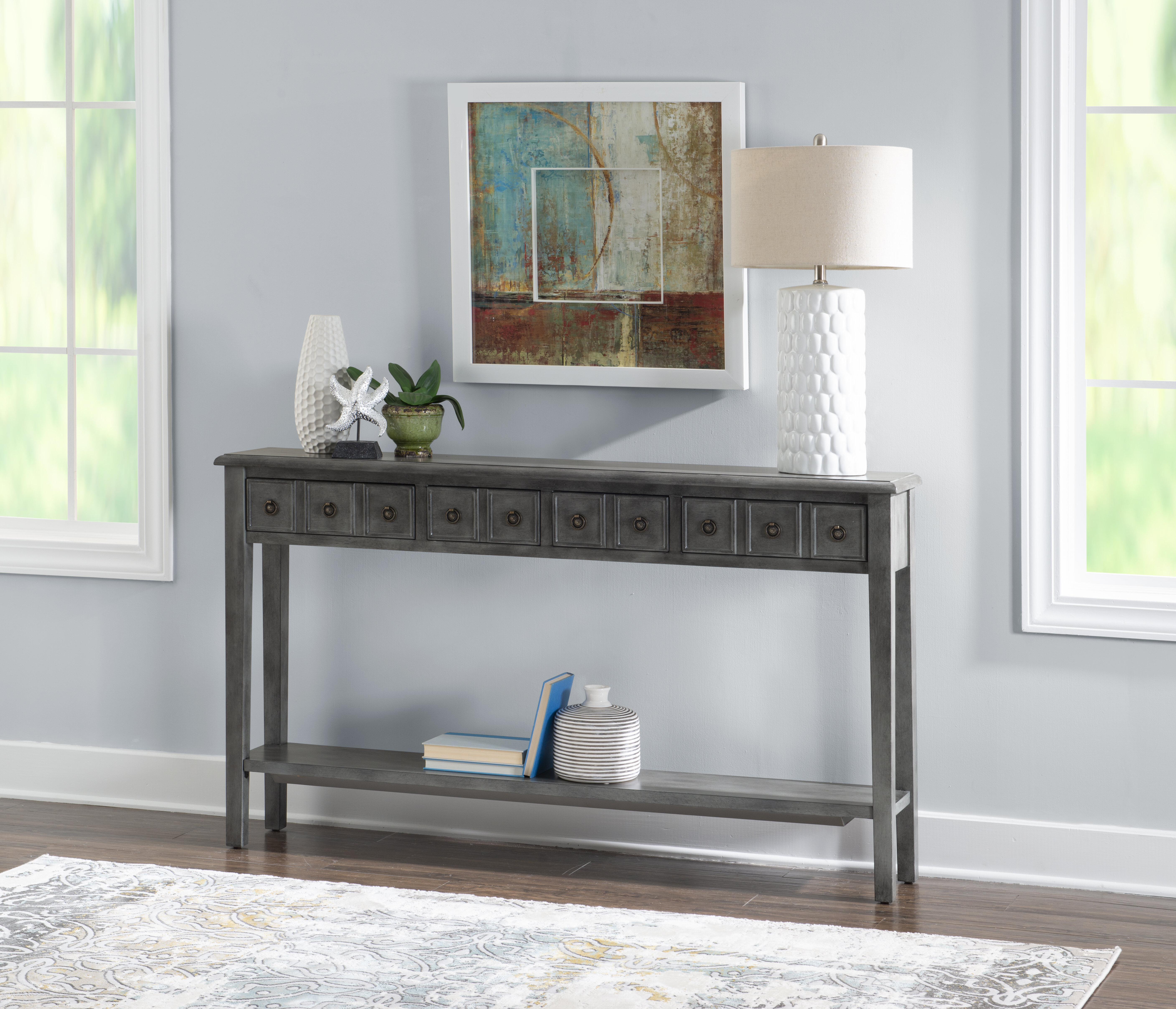 Picture of: Elvira 60 Console Table Reviews Joss Main