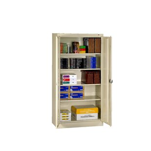 2 Door Storage Cabinet by Tennsco Corp. Cool