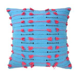 Mexico City Vivido Decorative Cotton Throw Pillow