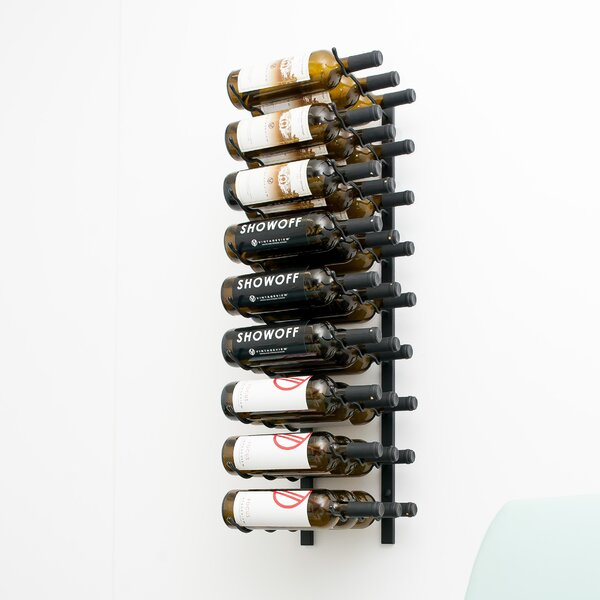 Rebrilliant Indurial 27 Bottle Wall Mounted Wine Bottle Rack Reviews Wayfair