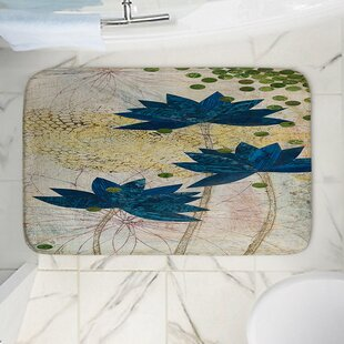 Lotus Memory Foam Bath Rug