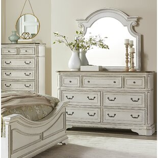 Laramie 7 Drawer Dresser with Mirror