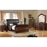 Ronny Queen Sleigh 5 Piece Bedroom Set (Set of 4) by Astoria Grand