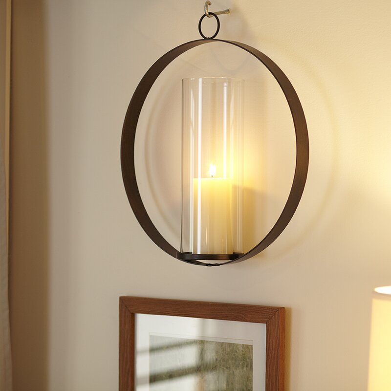 Hanging Candle Sconce