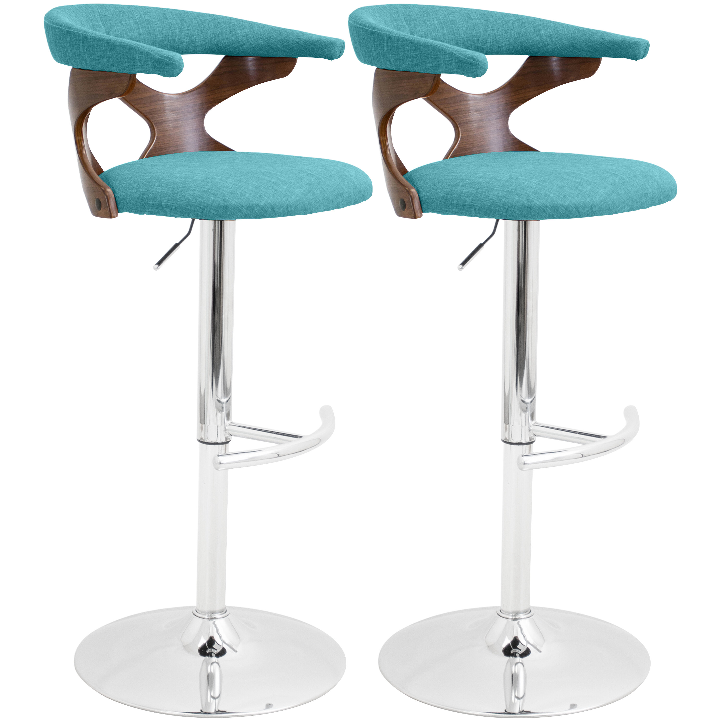 Astounding Altigarron Adjustable Height Swivel Bar Stool Ocoug Best Dining Table And Chair Ideas Images Ocougorg