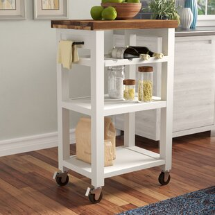 Corinna Kitchen Cart Red Barrel Studio