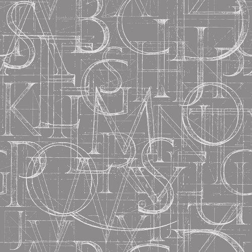 Alphabet Flatweave Grey Rug Ebern Designs Rug Size: Runner