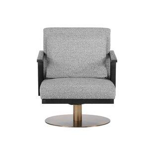 Alisa Swivel Armchair by Sunpan Modern
