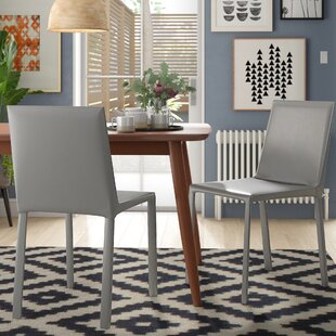 Willards Upholstered Dining Chair (Set of 2) Wade Logan