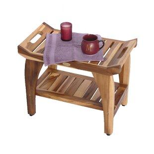 Peachy Tranquility Earthyteak Teak Shower Seat Andrewgaddart Wooden Chair Designs For Living Room Andrewgaddartcom