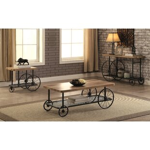 Springport 3 Piece Coffee Table Set