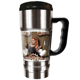 WWE Becky Lynch Vacuum 20 oz. Stainless Steel Travel Tumbler