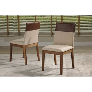 Tarvin Upholstered Dining Chair (Set of 2) Union Rustic