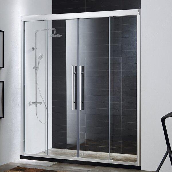 Wet Republic Clarity 59u0027u0027 X 72u0027u0027 Double Sliding Shower Door | Wayfair