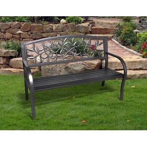 Georgiana Metal Garden Bench