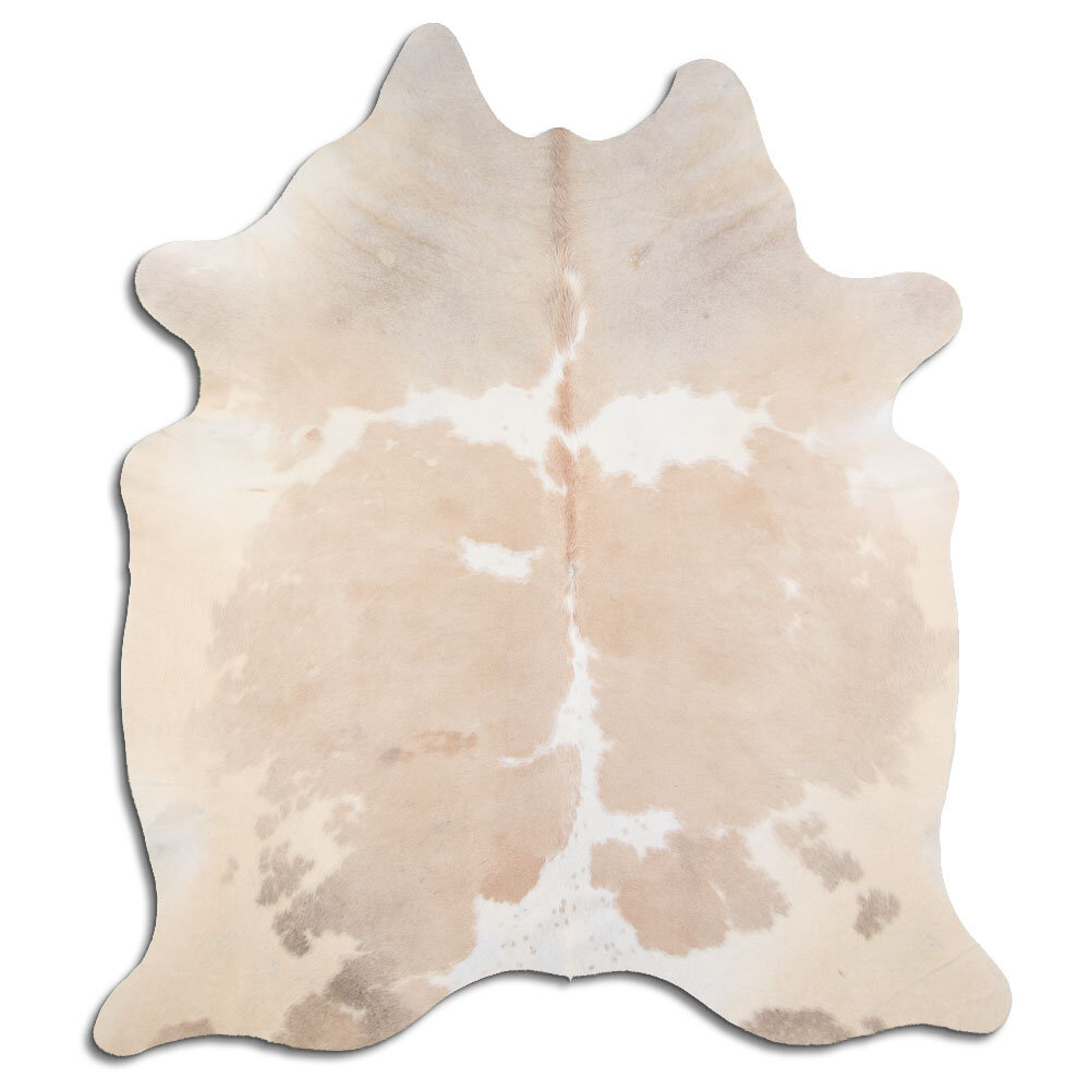 Foundry Select Parkman Handmade Cowhide Beige Area Rug Wayfair