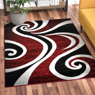 Purchase Mckenzie Red/Black/White Area Rug By Zipcode Design