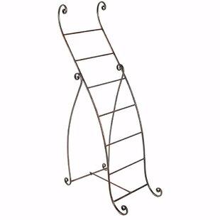 Best Cydney Standing Metal Mounting Towel Rack ByFleur De Lis Living