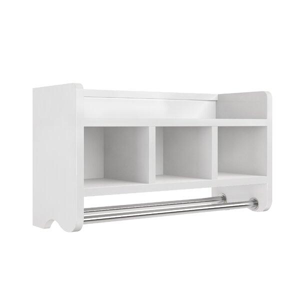 Bath Shelf With Towel Bar Wayfair