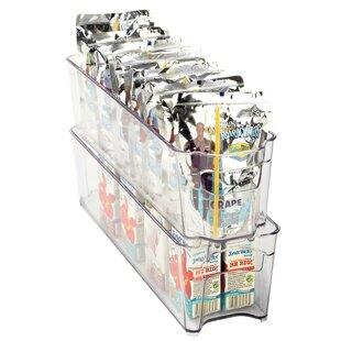 Slim Refrigerator Shelving Rack