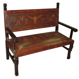 Tylersburg Heritage Leather Bench