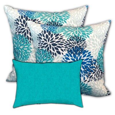 Pedigree Hawaii Water Indoor/Outdoor Pillow by Red Barrel Studio