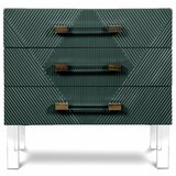 Milan End Table with Storage by ModShop