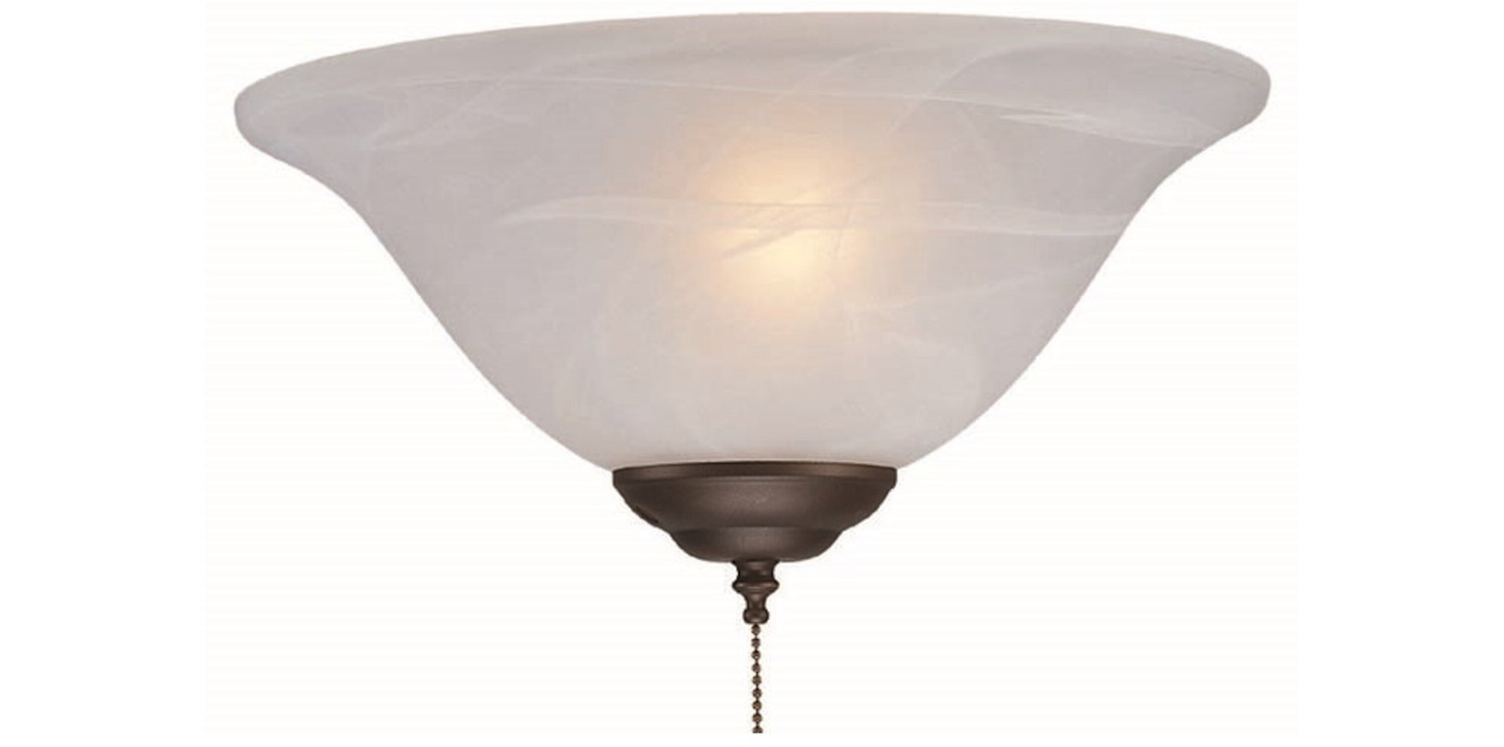 Royal Pacific 3 Light Bowl Ceiling Fan Light Kit & Reviews