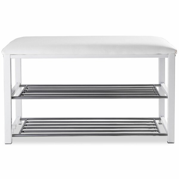 Entryway 6 Pairs Shoe Storage Bench Reviews Allmodern