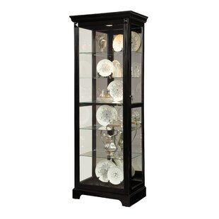 Napier Lighted Curio Cabinet