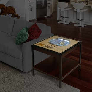Surprising Ncaa End Table Gmtry Best Dining Table And Chair Ideas Images Gmtryco