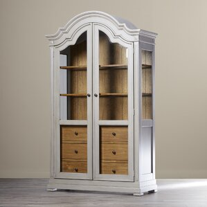 Williamsfield Lighted China Cabinet by Darby Home Co