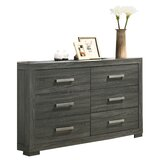 Nahabed 6 Drawer Dresser by Ebern Designs
