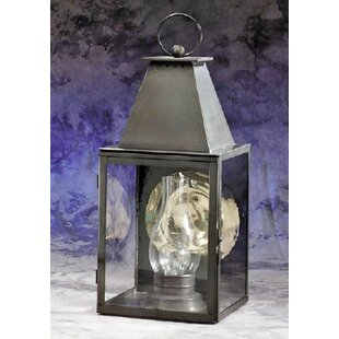 Inexpensive Beltran 1-Light Outdoor Wall Lantern By Darby Home Co