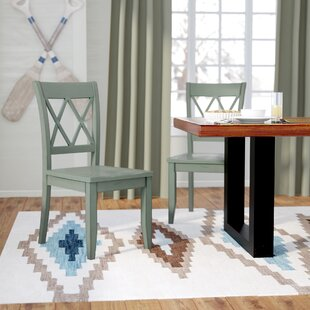 Castle Pines Solid Wood Dining Chair (Set Of 2)