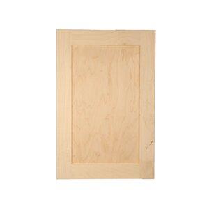 Anzlie Frontline Recessed 1 Door Medicine Cabinet with Adjustable Shelves
