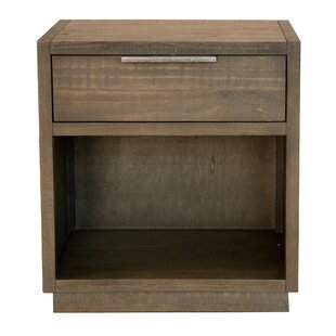 Scaggs 1 Drawer Nightstand