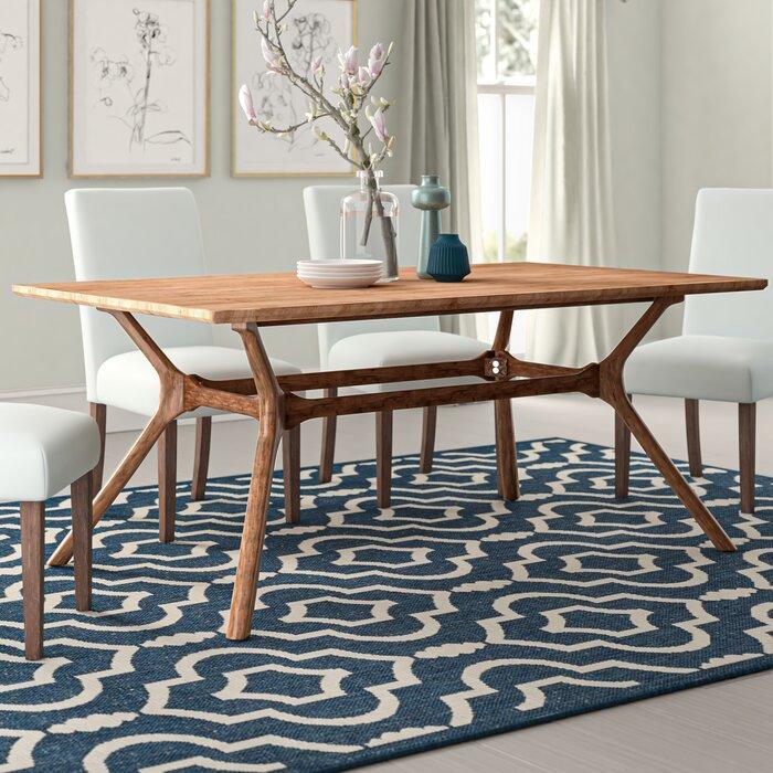 quality design e4711 6cb4c Caro Trestle Dining Table