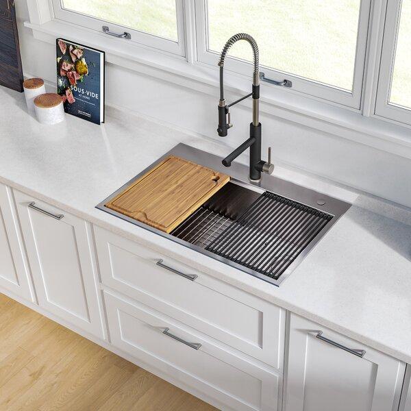 30 Inch Drop In Kitchen Sink Wayfair