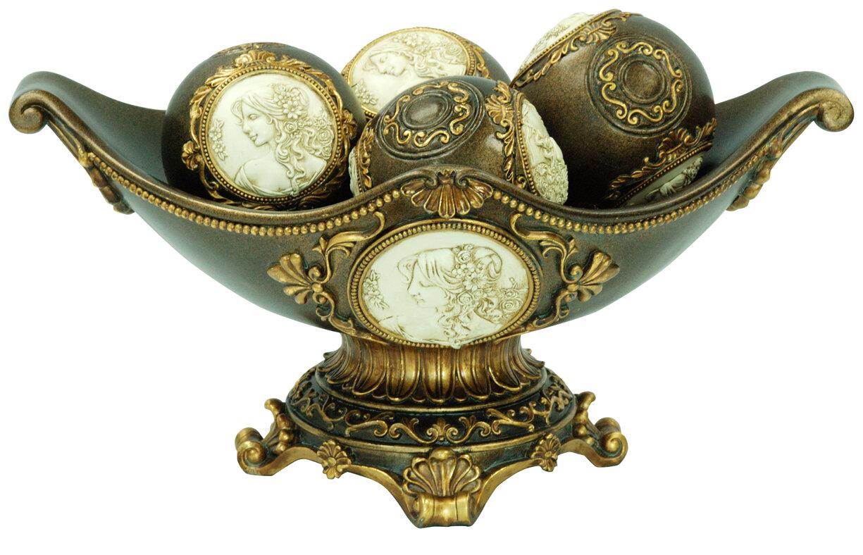 Astoria grand forbush decorative fruit bowl wayfair