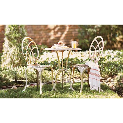 Messer 3 Piece Bistro Set by Astoria Grand 2020 Sale