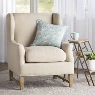 Meriem Wingback Chair by Lark Manor Wonderful