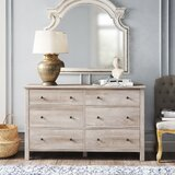 Aguirre 6 Drawer Double Dresser by Kelly Clarkson Home