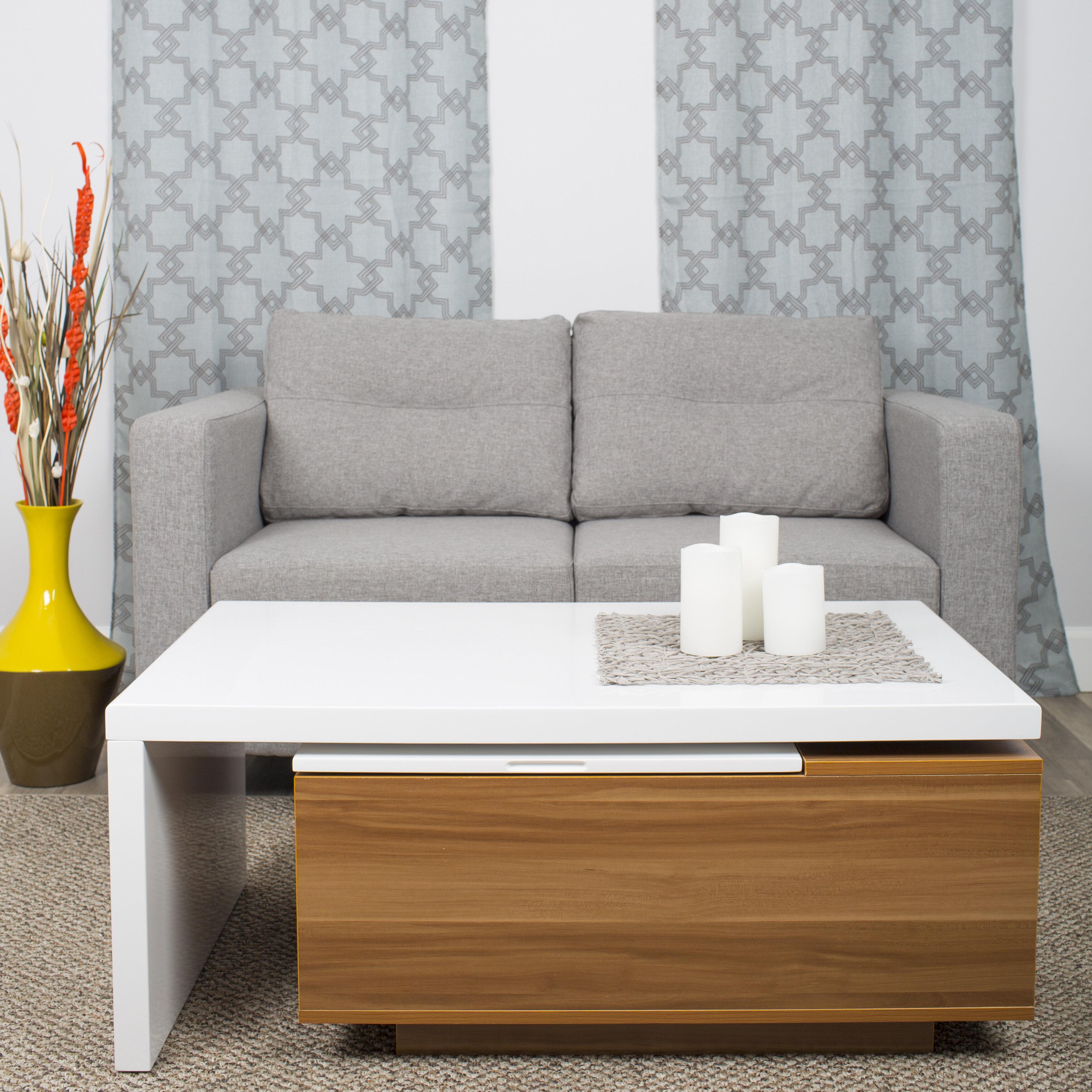 Orren Ellis Alexandira Lift Top Coffee Table With Storage Reviews Wayfair [ 3500 x 3500 Pixel ]