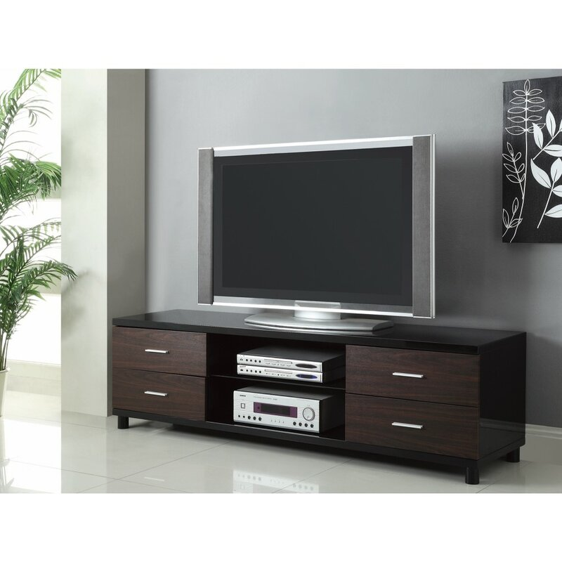 "Orren Ellis Bazzinotti TV Stand for TVs up to 78"" | Wayfair"