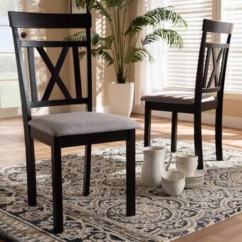 Winston Porter Feltman Solid Wood Dining Chair Reviews Wayfair